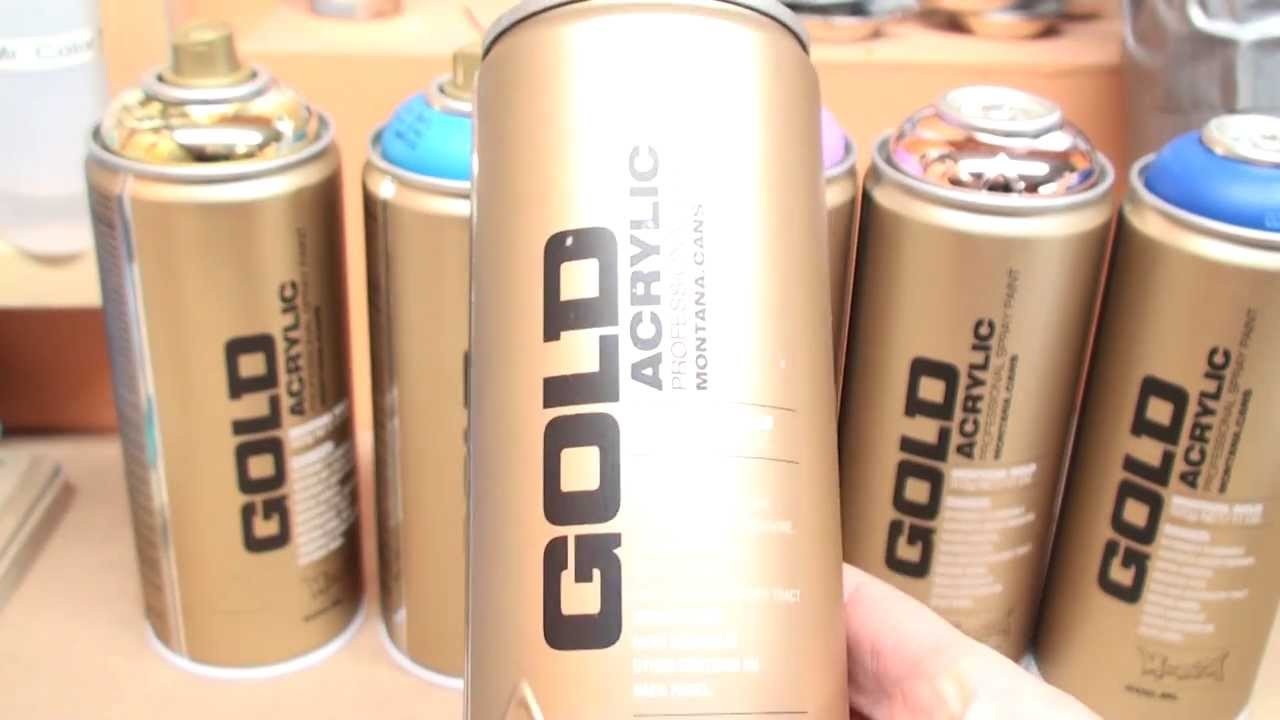 montana gold spray paint review for scale hobbies youtube. Black Bedroom Furniture Sets. Home Design Ideas