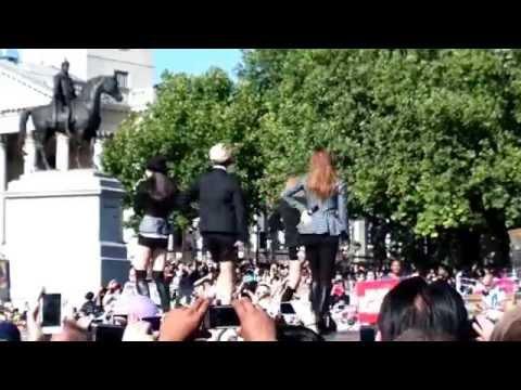 f(x) 에프엑스 at London Korean Festival, Trafalgar Square, 9th August 2105