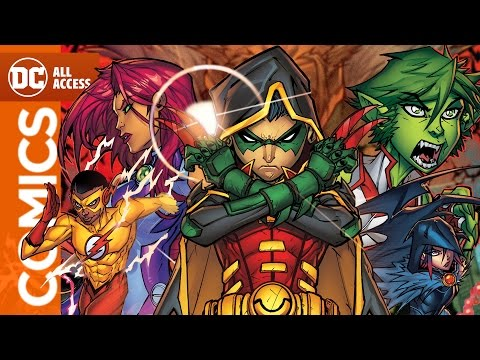 "Teen Titans Battle Ra's al Ghul's ""Demon's Fist"""
