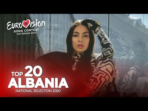 Eurovision 2020 - Festivali i Këngës 58 (Albanian National Selection) - Top 20