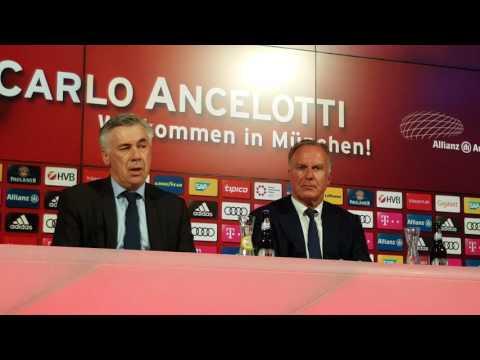 Carlo Ancelotti: Seine ersten Sätze auf Deutsch - FC Bayern