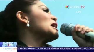 """download lagu Kristina Menyanyikan Lagu """"kegagalan Cinta"""" Bersama Tni gratis"""