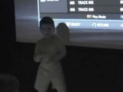 Funny 4 Year Old Kid Dances And Entertains Ladies cupid Shuffle And apple Bottom Jeans. video