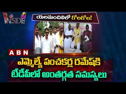 TDP Leaders opposes Vizag Sitting MLA, Internal Clashes Between Leaders | Inside