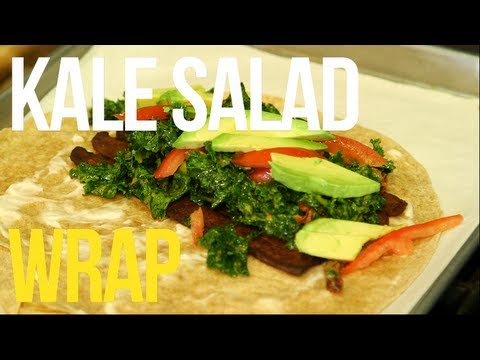 Kale Salad | Natural Living with Afya