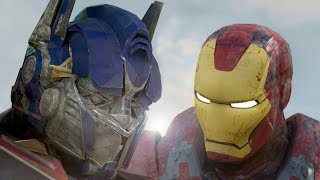 IRONMAN vs OPTIMUS PRIME - Super Power Beat Down (Episode 18)