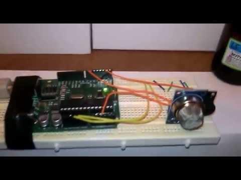 Lesson 30 MQ-2 Gas Sensor - SunFounder