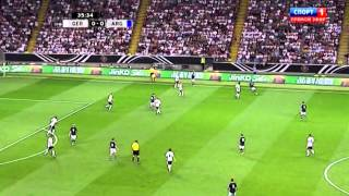 Fernando Gago vs Germany 15.08.2012 HD 720p | By yirapa