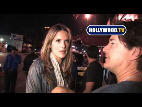Alessandra Ambrosio Chats with Hollywood.TV Video