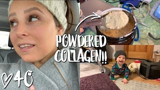 TRYING COLLAGEN IN MY COFFEE!! // WEEKLY 40
