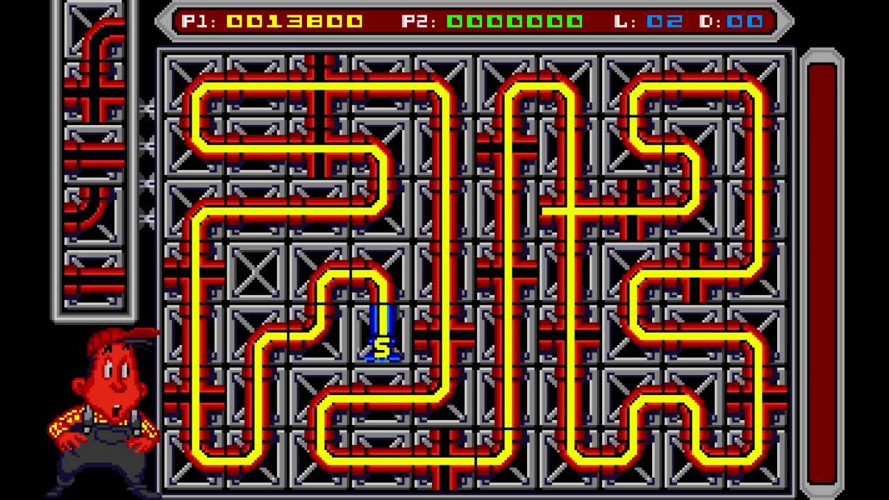 Pipe Mania Game Pipe Mania Atari st