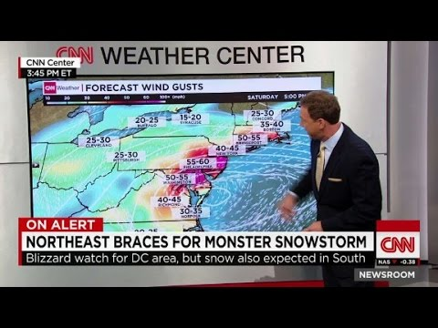Winter storm could be historic