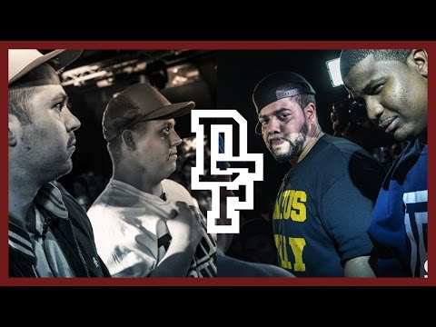 DON'T FLOP - Rap Battle - Chris Leese & Unanymous Vs Charlie Clips & D...
