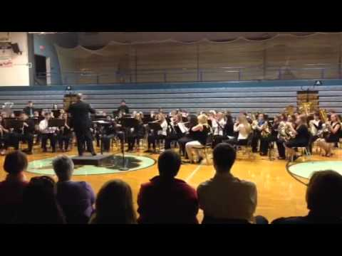 2014 Clinton County high school honor band