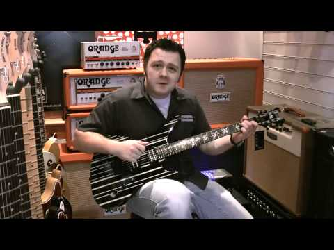 Schecter Synyster Gates Custom Guitar Demo