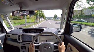 【Test Drive】2016 New DAIHATSU MOVE CANBUS - POV City Drive