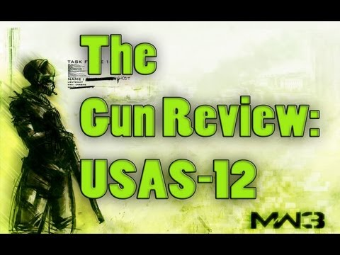 The MW3 Gun Review - Ep. 8: USAS-12 (Modern Warfare 3 Guns. Perks. and Attachments Reviewed))