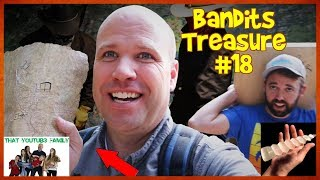 Tracking BANDiTS MYSTERY TREASURE MAP - Ready To Trap! Bandits Treasure #18 / That YouTub3 Family