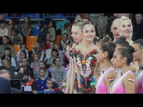 РОССИЯ / Групповые упражнения / скакалки, мячи / ГРАН-ПРИ Москва 2017