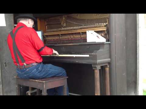 Rockville, IN 2012 Piano Player of Silent Movie Theme Songs