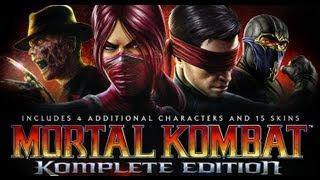 Mortal Kombat 9 HD Komplete Español - La Historia en Pelicula (Parte 1/2)