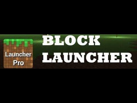 Скачать блок лаунчер про для Майнкрафт на андроид