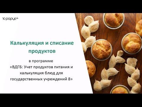 Меню - требование на выдачу продуктов питания n 256