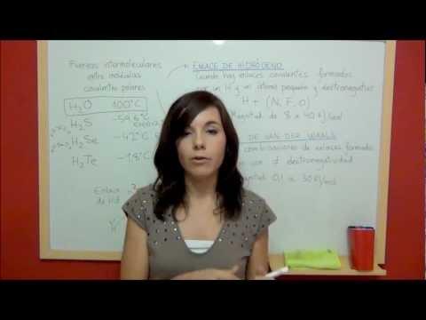 QUIMICA Fuerzas intermoleculares entre moléculas covalentes polares