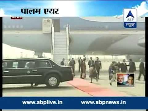 Obama leaves India l Heads to Riyadh to pay respects to deceased Saudi king