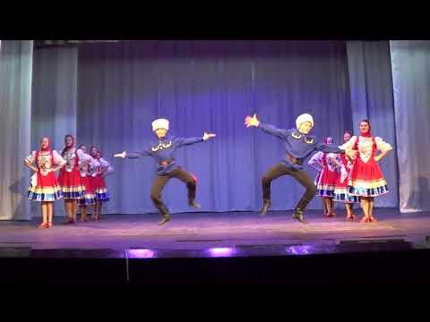 3  Танец Казачий перепляс, исполняет ансамбль Непоседы, средняя группа
