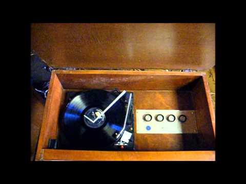 1963 Westinghouse record player