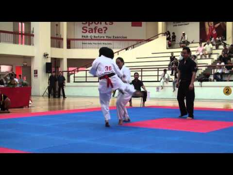 Kyokushin Karate Tournament 2012 Safira Alsana Image 1