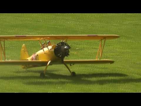Biplane - Saito FA-325 5-Cylinder Radial Glow Engine