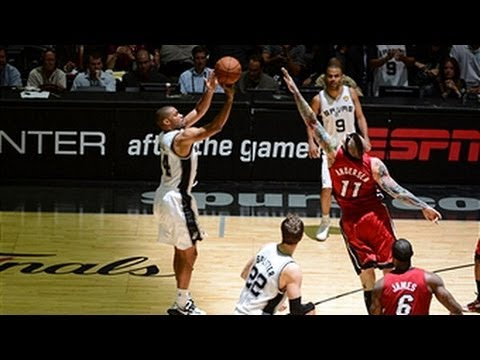 Gary Neal's BIG game 3 helps Spurs take series lead!
