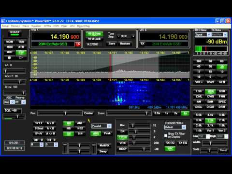 8R1Z Guyana on Flex-3000 SDR
