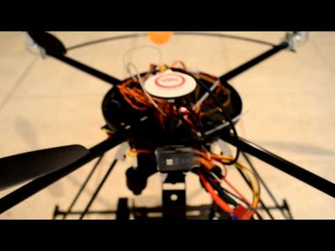 Turbo Ace X830-D w/ DJI Naza-M & GPS Test Flight