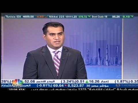 أهم تطورات الأسواق على قناة CNBC مع رئيس قسم الدراسات الاقتصادية في امانة كابيتال رائد الخضر