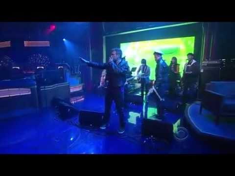 Gorillaz - Rhinestone Eyes - Late Show with David Letterman