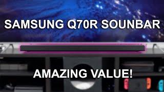 BEST Value Soundbar with AMAZING sound! - Samsung Q70R Soundbar