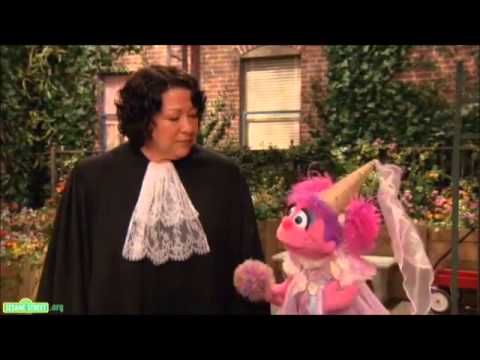 Supreme Court Justice Sonia Sotomayor on Sesame St to Discuss Career Women  (201