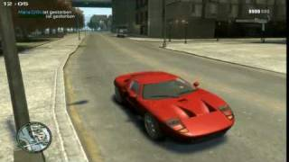 GTA 4 Car Mods - Ford GT