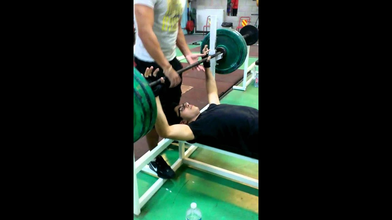 15 yo i bench press max in one rep i 80kg 176lbs youtube