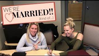 We Got Married!! | Cat & Nat Vlog 28