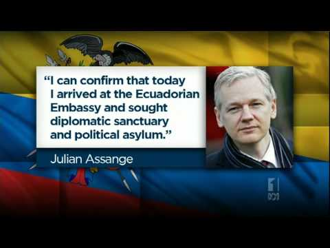 Julian Assange Has Taken Refuge In Ecuador Embassy in London To Seek Asylum