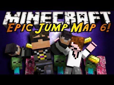 Minecraft: Epic Jump Map Valentines Part 2!