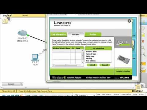 Varias formas de configurar un router inalambrico LINKSYS / CISCO 4 Parte