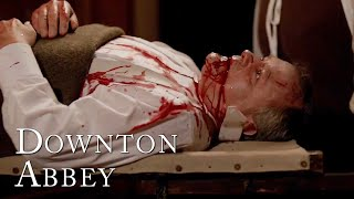 Robert's Ulcer Bursts! | Downton Abbey