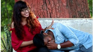 Sleeping on cute girls prank ! Shadab ke karname, Allahabad prank (Prayagraj) best prank.