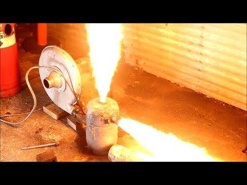 waste Oil Burner big flames