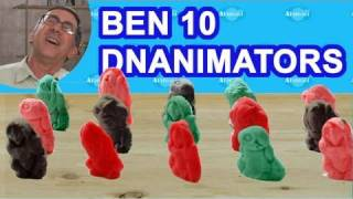 Ben 10 DNAnimators Toy Review Ben 10 Ultimate Alien Toys